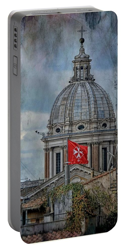 Vatican Portable Battery Charger featuring the photograph St Peters by Bill Howard