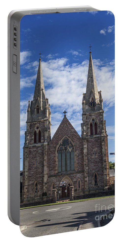Buckie Portable Battery Charger featuring the photograph St Peters by Diane Macdonald
