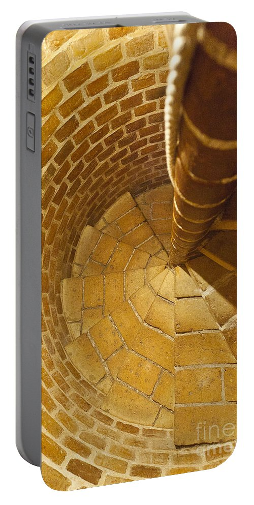 Heiko Portable Battery Charger featuring the photograph Staircase In Stone by Heiko Koehrer-Wagner