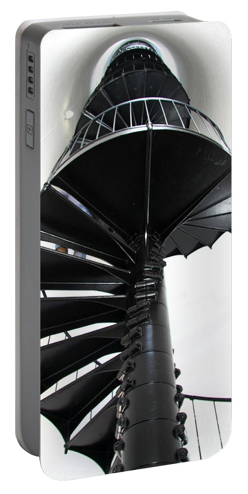 Stairway Portable Battery Charger featuring the photograph Staircase To Heaven by Christiane Schulze Art And Photography