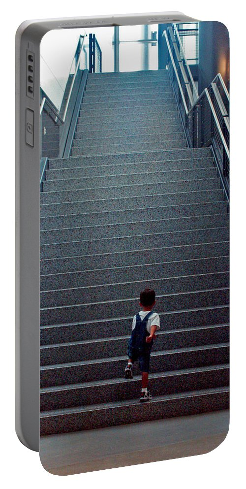Washington D.c. Portable Battery Charger featuring the photograph Stairway To... by Pablo Rosales