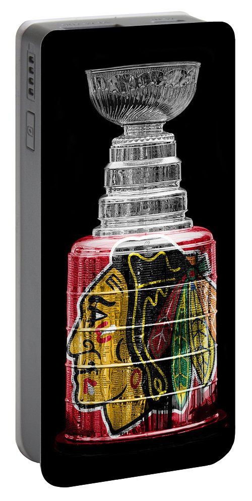 Hockey Portable Battery Charger featuring the photograph Stanley Cup 6 by Andrew Fare