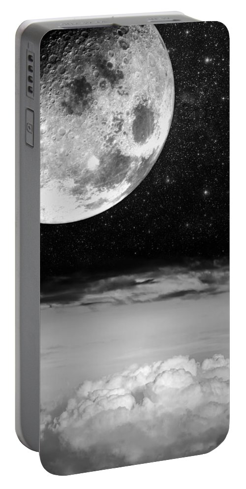 Black Portable Battery Charger featuring the photograph Starry Starry Night by Semmick Photo