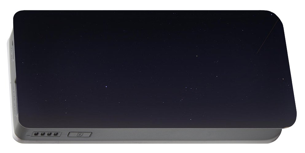 Stars Over Sawatch Portable Battery Charger featuring the photograph Stars Over Sawatch by Jeremy Rhoades