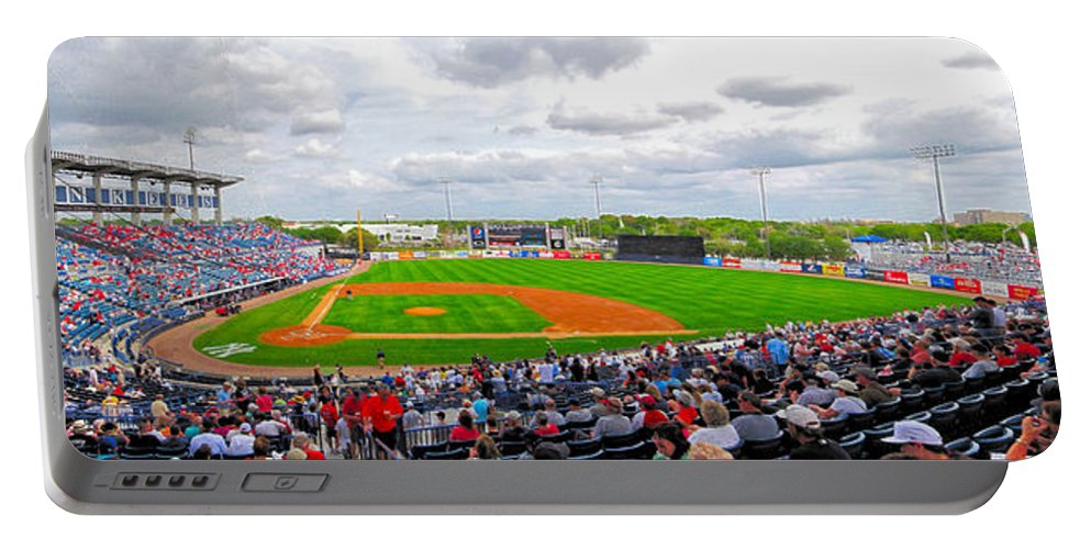Steinbrenner Field Portable Battery Charger featuring the photograph Steinbrenner Field 3 by C H Apperson