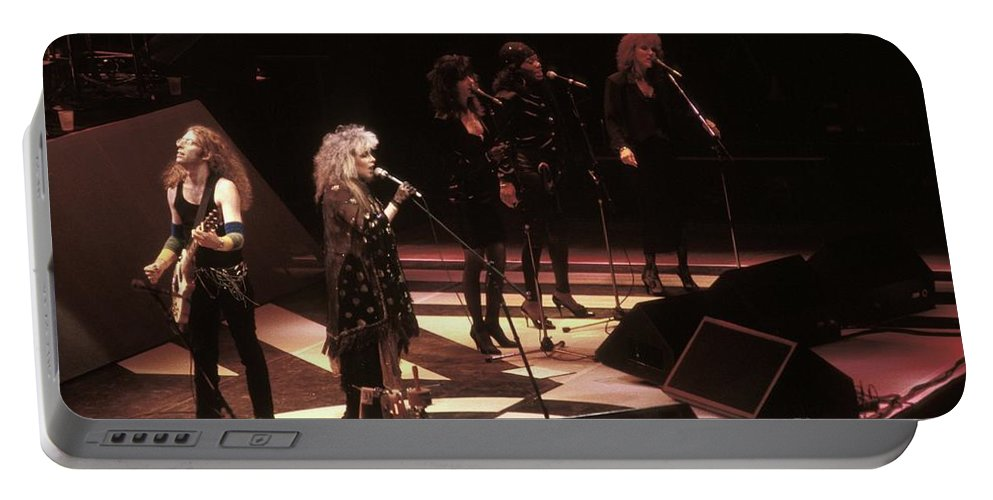 Singer Portable Battery Charger featuring the photograph Stevie Nicks by Concert Photos