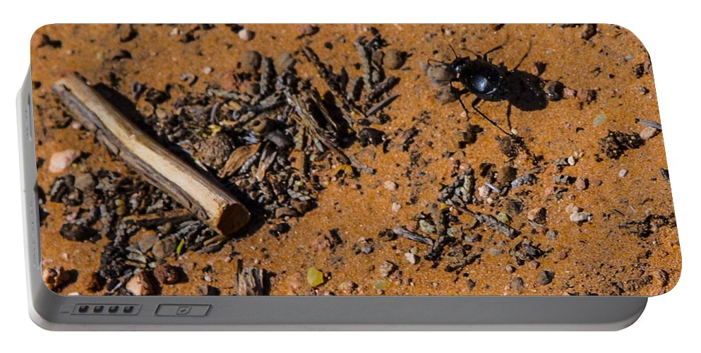 Moab Portable Battery Charger featuring the photograph Sticks And Stones... by Angus Hooper Iii