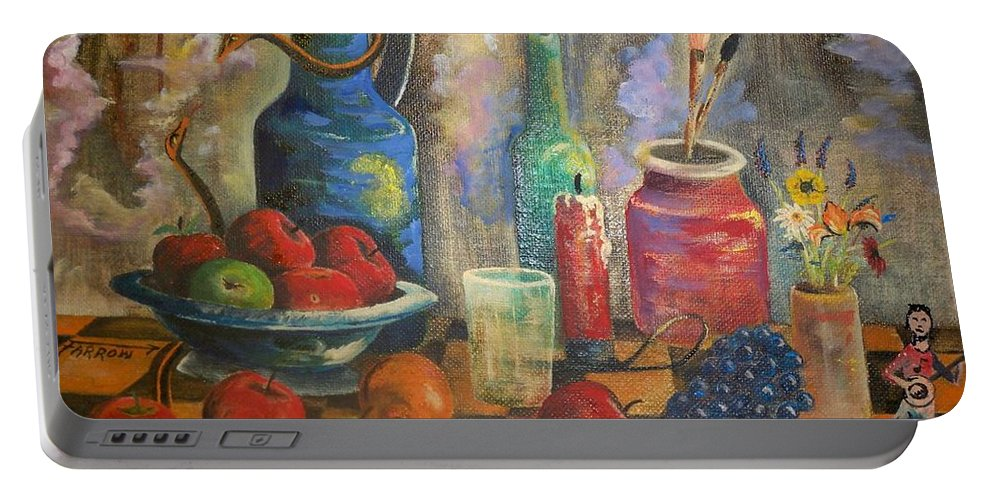 Still Life Portable Battery Charger featuring the painting Still Life by Dave Farrow