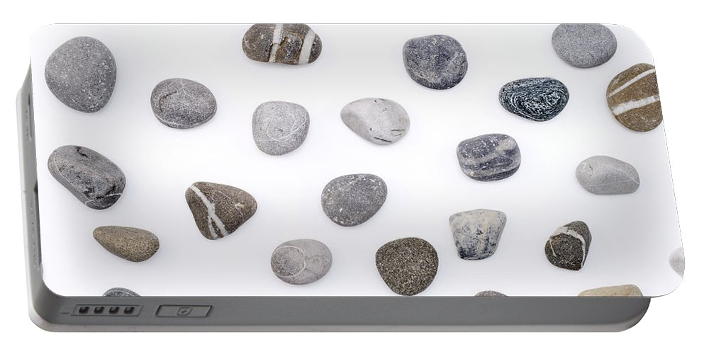 Stone Portable Battery Charger featuring the photograph Stones by Chevy Fleet
