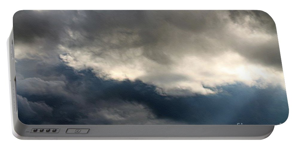 Storm Clouds Portable Battery Charger featuring the photograph Storm Clouds by J McCombie