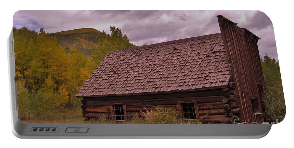 Ashcroft Portable Battery Charger featuring the photograph Storm Over Ashcroft by Tonya Hance