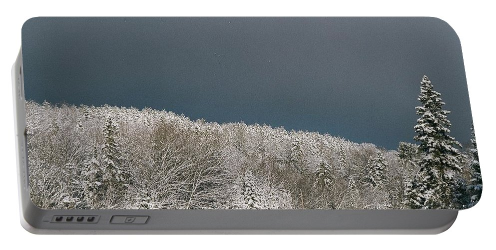 Scenery Portable Battery Charger featuring the photograph Storm's A'brewin' by David Porteus