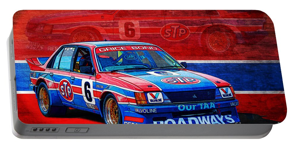 Group C Portable Battery Charger featuring the photograph Stp Commodore by Stuart Row