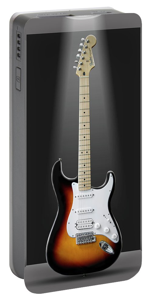 Electric Guitar Portable Battery Charger featuring the photograph A Classic In A Box by Mike McGlothlen
