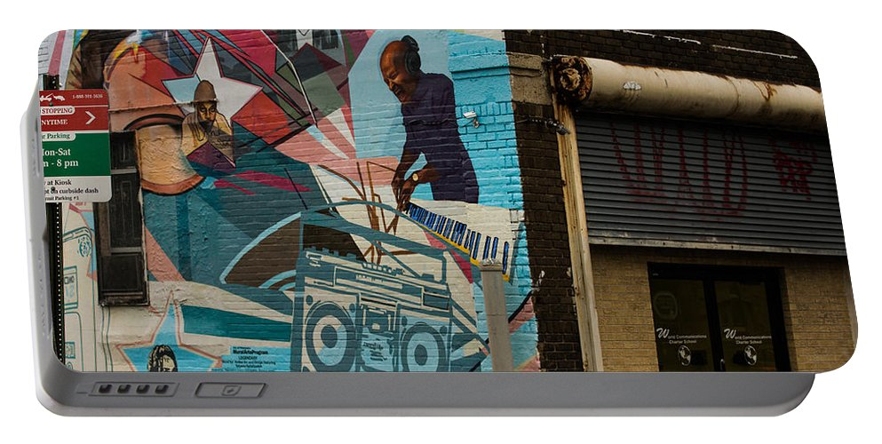 Street Art Portable Battery Charger featuring the photograph Street Art by Kathleen Odenthal