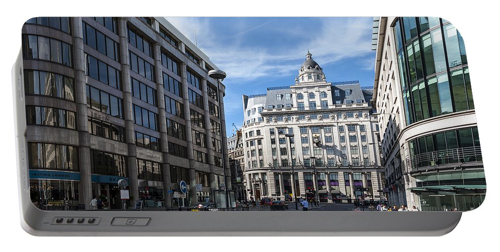 Architecture Portable Battery Charger featuring the photograph Streets Of London by Svetlana Sewell