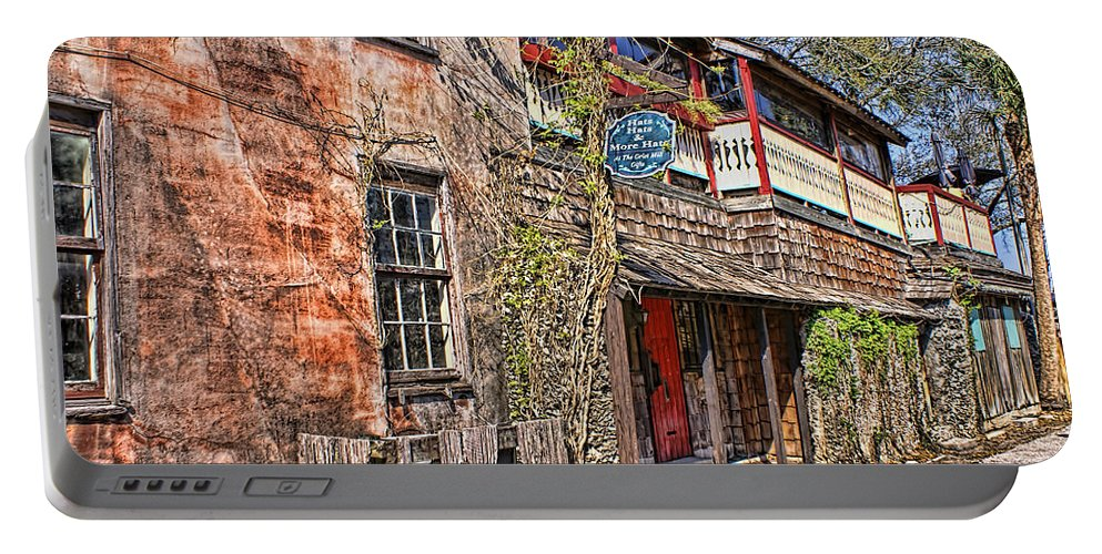 St Augustine Portable Battery Charger featuring the photograph Streets Of St Augustine Florida by Olga Hamilton