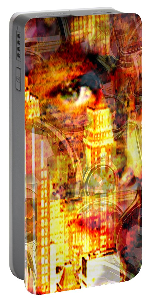 Big City Portable Battery Charger featuring the photograph Streetwalker by Seth Weaver