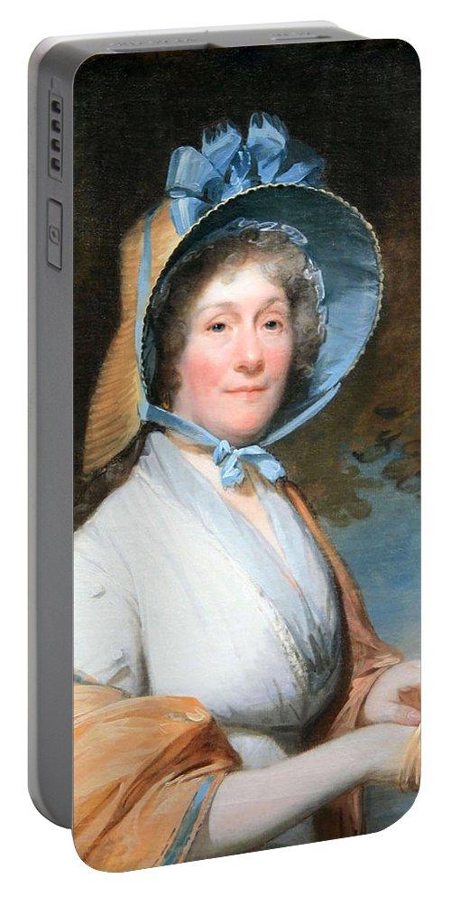 Henrietta Marchant Liston Portable Battery Charger featuring the photograph Stuart's Henrietta Marchant Liston Or Mrs. Robert Liston by Cora Wandel