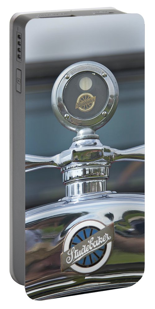 Glenmoor Portable Battery Charger featuring the photograph Studebaker by Jack R Perry