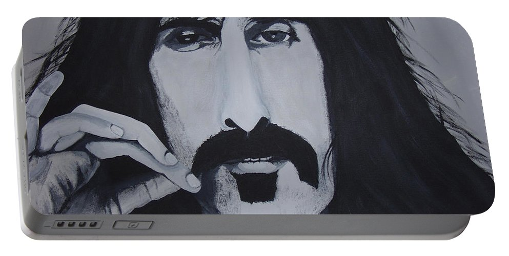 Suave Portable Battery Charger featuring the painting Suave 40-93 by Dean Stephens