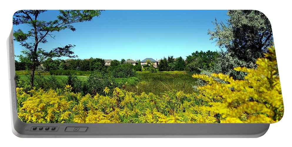 Suburbs Portable Battery Charger featuring the photograph Suburban Heaven by Valentino Visentini