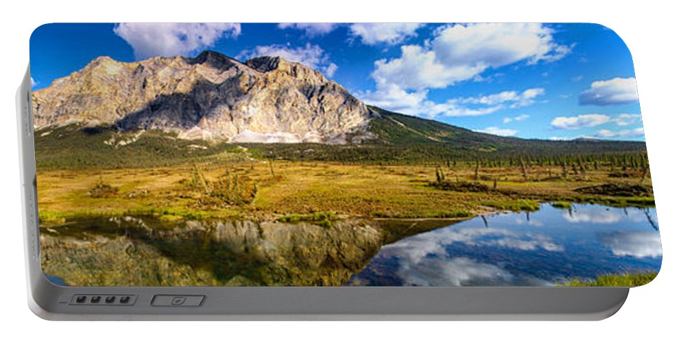 Landscape Portable Battery Charger featuring the photograph Sukakpak Reflection by Chad Dutson