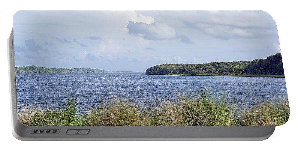 Scenery Portable Battery Charger featuring the photograph Summer At Guana Lake by Kenneth Albin
