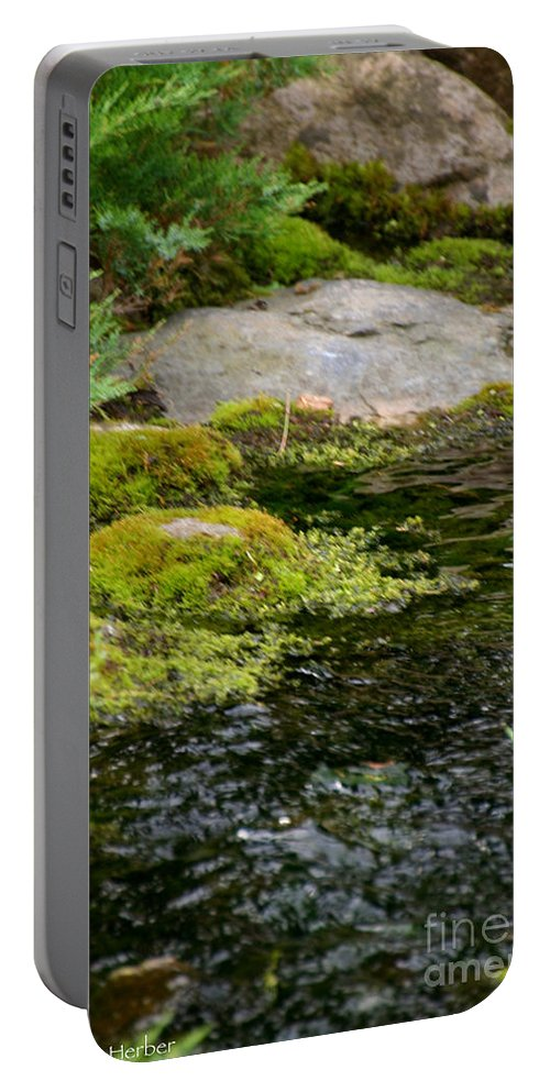 Outdoors Portable Battery Charger featuring the photograph Summer Creek by Susan Herber