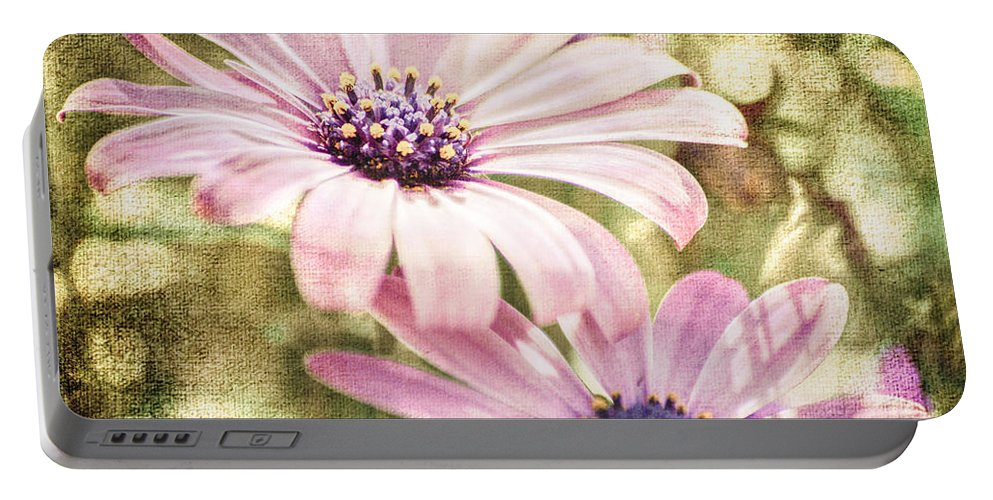 Blossom Portable Battery Charger featuring the photograph Summer Feeling by Hannes Cmarits
