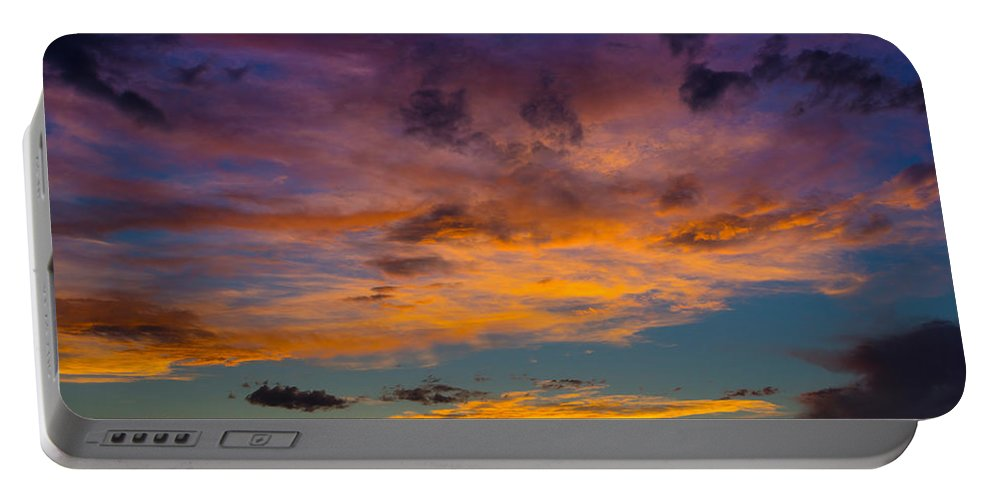 Sunsets Portable Battery Charger featuring the photograph Summer Sunset Colorado by Ernie Echols