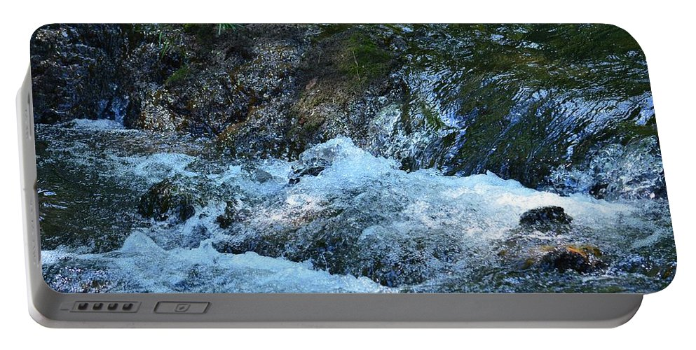 Summer Waters Portable Battery Charger featuring the photograph Summer Waters by Maria Urso