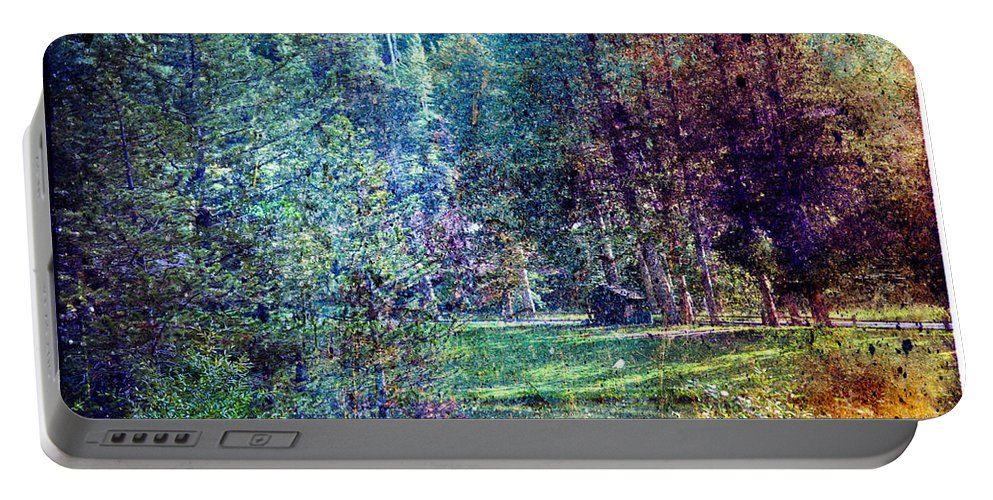 Vail Portable Battery Charger featuring the photograph Distant Memory by Madeline Ellis