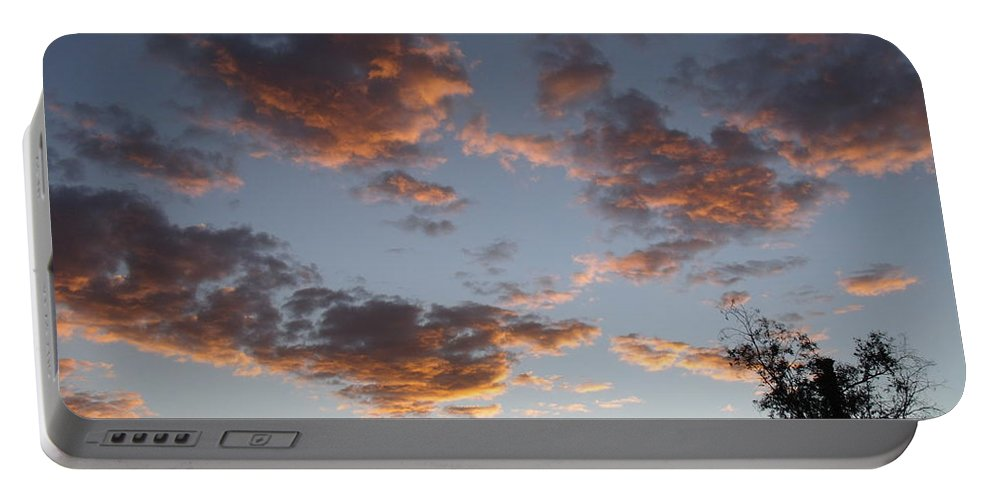 Arizona Portable Battery Charger featuring the photograph Sun Clouds by David S Reynolds