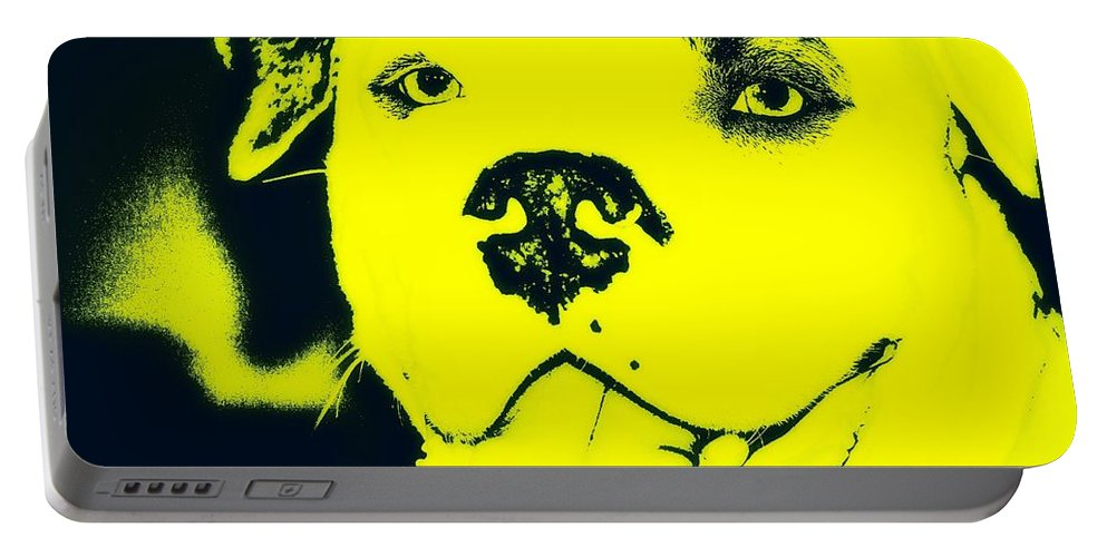Dog Portable Battery Charger featuring the photograph Sunny Buddy by Cathy Smith