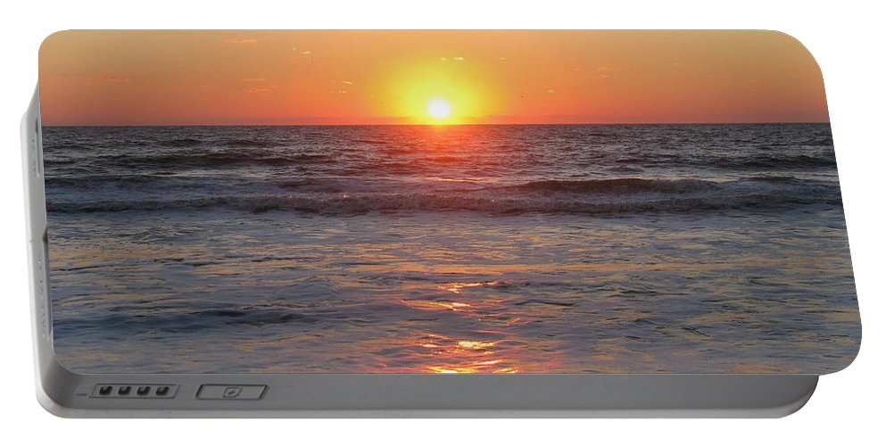 Landscape Portable Battery Charger featuring the photograph Sunrise 10/2/2013 by Ellen Meakin