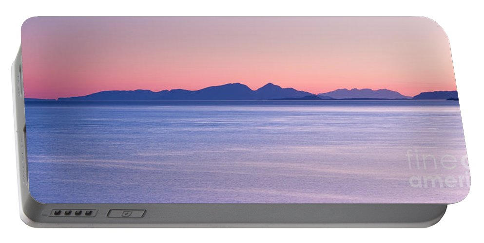 Landscape Portable Battery Charger featuring the photograph Sunrise Over The Islands by Richard Burdon