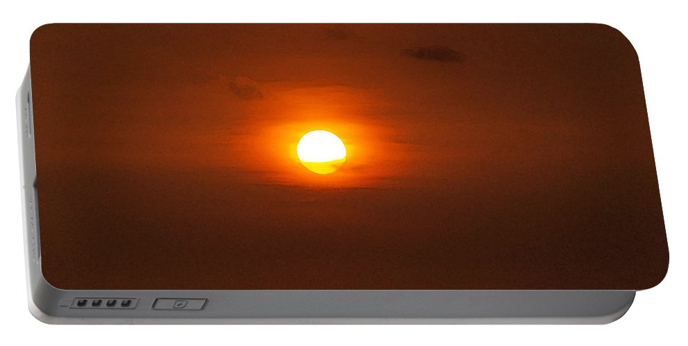 Sunset Photographs Portable Battery Charger featuring the photograph Sunset by Athala Carole Bruckner