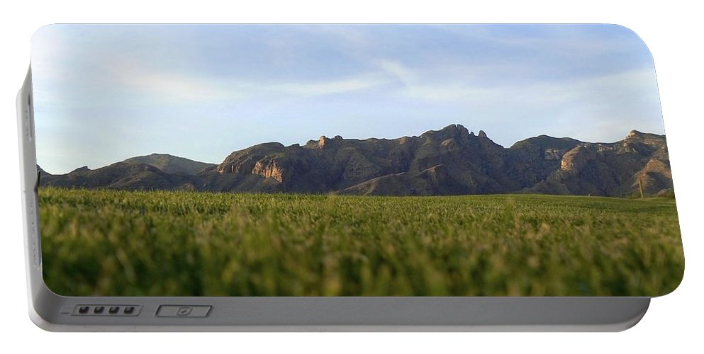 Tucson Portable Battery Charger featuring the photograph Sunset On The Golf Course by Rincon Road Photography By Ben Petersen