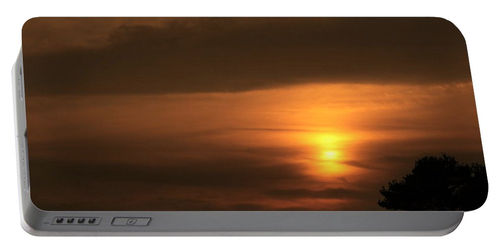 Sunset Portable Battery Charger featuring the photograph Sunset Valley by Neal Eslinger