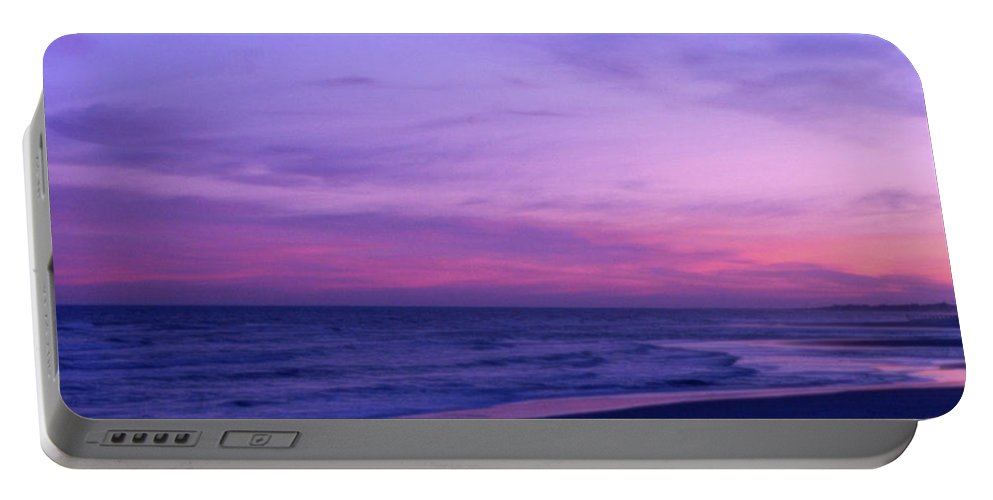 Sunset Portable Battery Charger featuring the photograph Surreal Sunset by Al Powell Photography USA