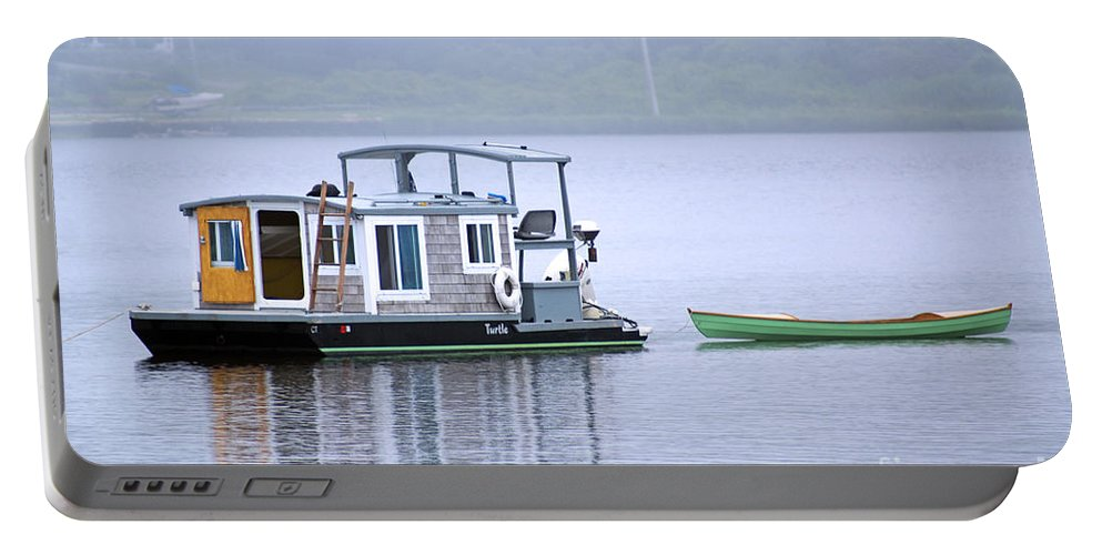 Boat Portable Battery Charger featuring the photograph Sweet Summer Shack by Joe Geraci