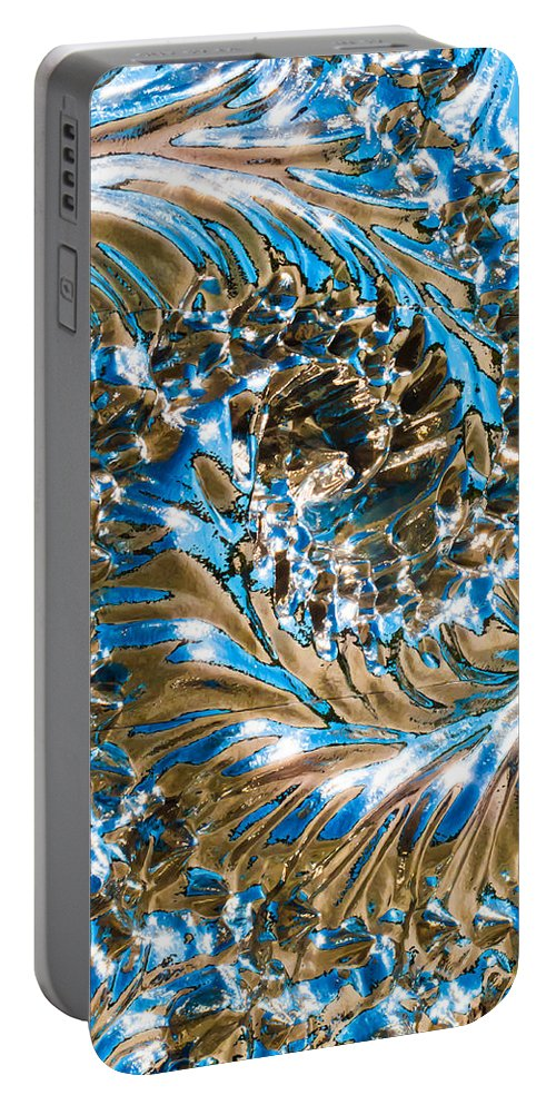 Swirly Portable Battery Charger featuring the photograph Swirly Mirror by Hakon Soreide