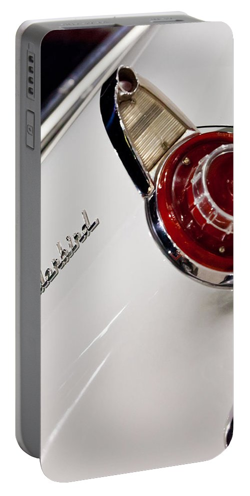 57 Thunderbird Portable Battery Charger featuring the photograph T-bird by Melinda Ledsome