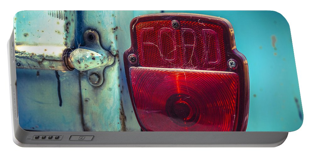 Tail Light Portable Battery Charger featuring the photograph Tail Tale by Caitlyn Grasso
