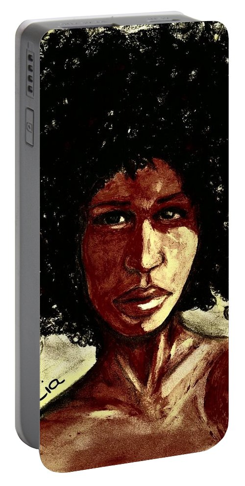 Beautiful Portable Battery Charger featuring the photograph Take me or leave me Alone by Artist RiA