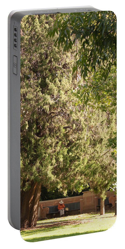 Outdoors Portable Battery Charger featuring the photograph Taking Time Out by Jill Mitchell