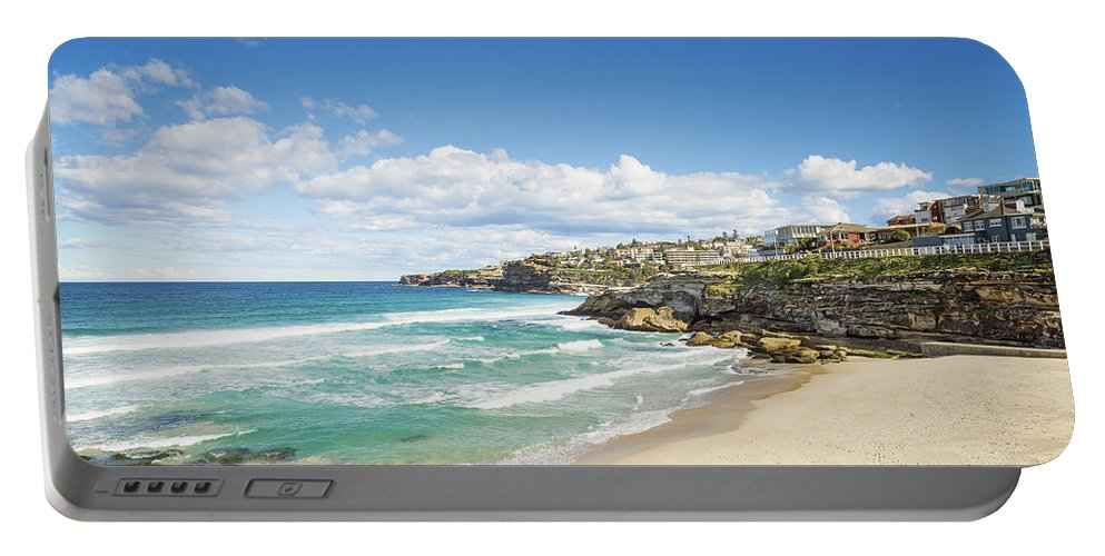 Architecture Portable Battery Charger featuring the photograph Tamarama Beach Beach In Sydney Australia by Jacek Malipan