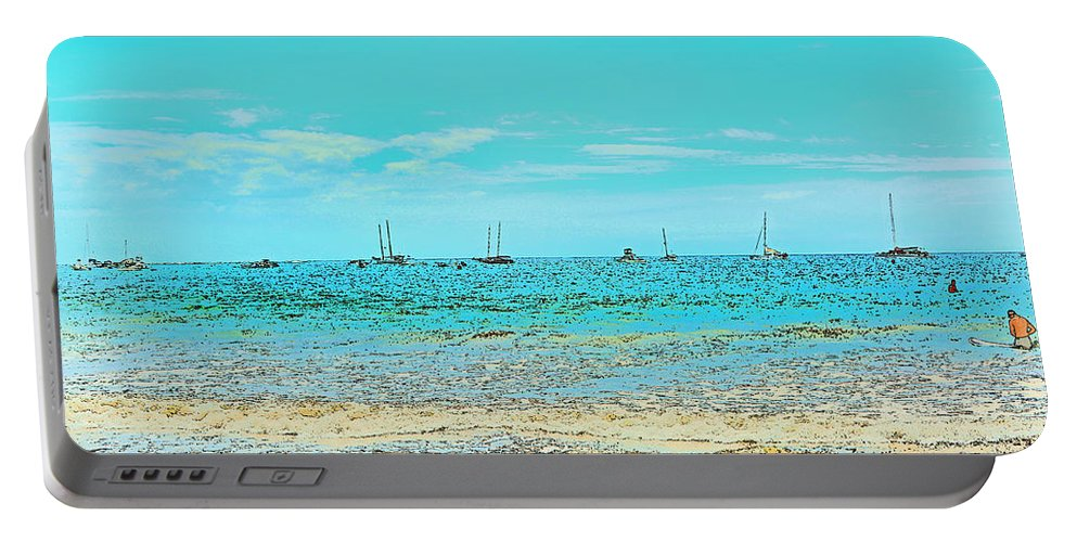 Boat Portable Battery Charger featuring the photograph Tamarindo Nicoya Peninsula by Gary Keesler