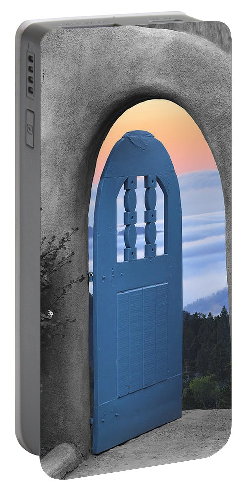 Santa Fe And Taos Portable Battery Charger featuring the photograph Taos Dream by Greg Wells